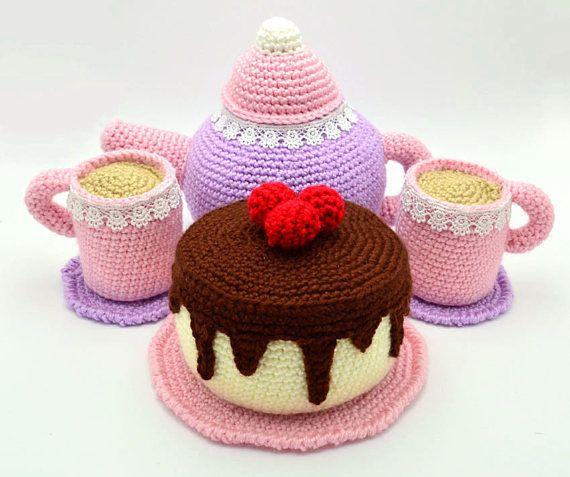 Amigurumi torta compleanno | Dolci uncinetto, Cibo uncinetto ... | 477x570