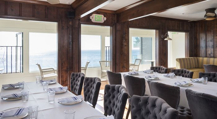 Interior Design Historical Project Private Dining At Driftwood Kitchen Laguna Beach Think