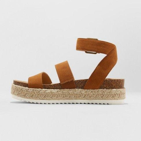 ba39df8cf46b Women s Agnes Quarter Strap Espadrille Sandals - Universal Thread™   Target
