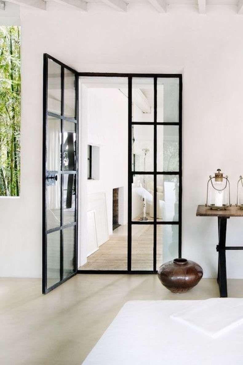 Puertas de fierro y vidrio la tendencia en decoraci n que for Puertas de vidrio para casas