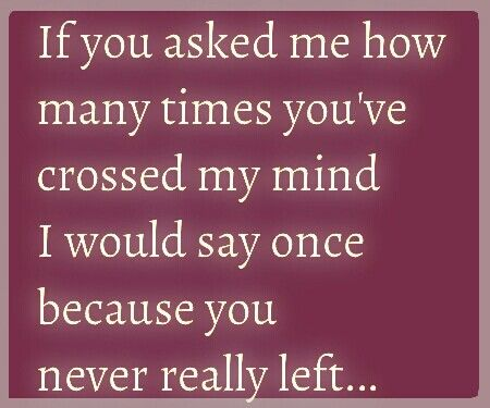 You Cross My Mind Love Love Quotes Cute Love Quotes Quotes