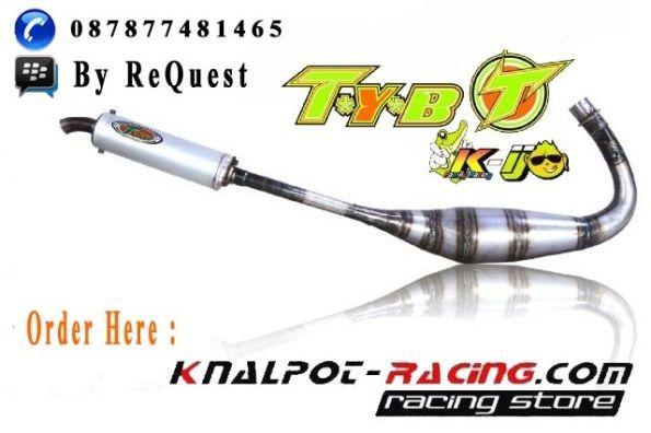 knalpot tyb Yamaha 125Z dan RXZ kolor ijo