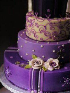 Purple Birthday Cakes