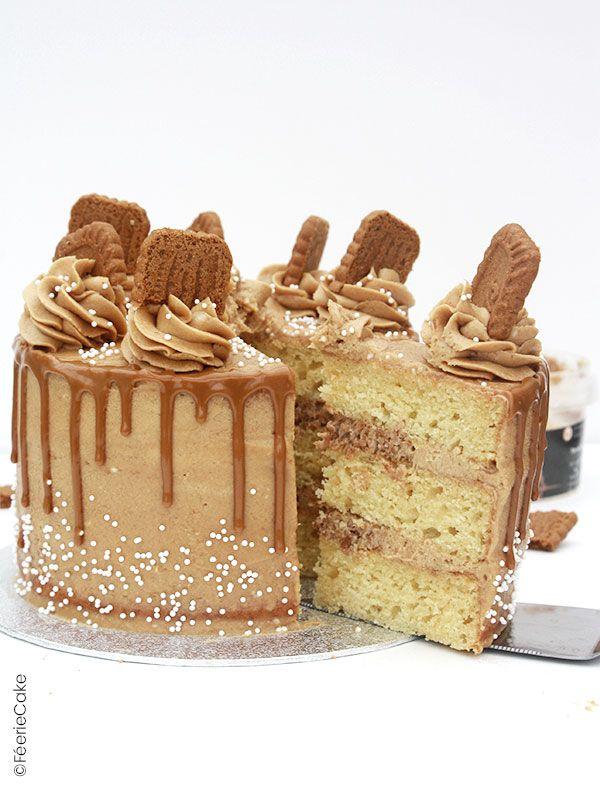 La recette du Layer Cake au spéculoos : un vrai régal !