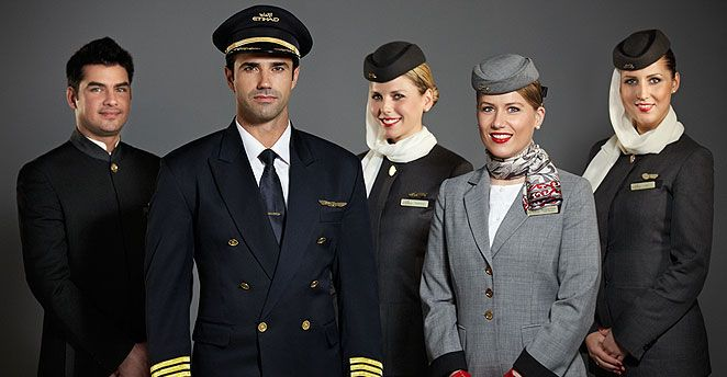 Flight Crew Etihad Airways Airliners Pinterest Cabin crew