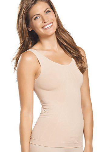 9e88461e25c52 Jockey Women s Shapewear Staycool Shapewear Tank