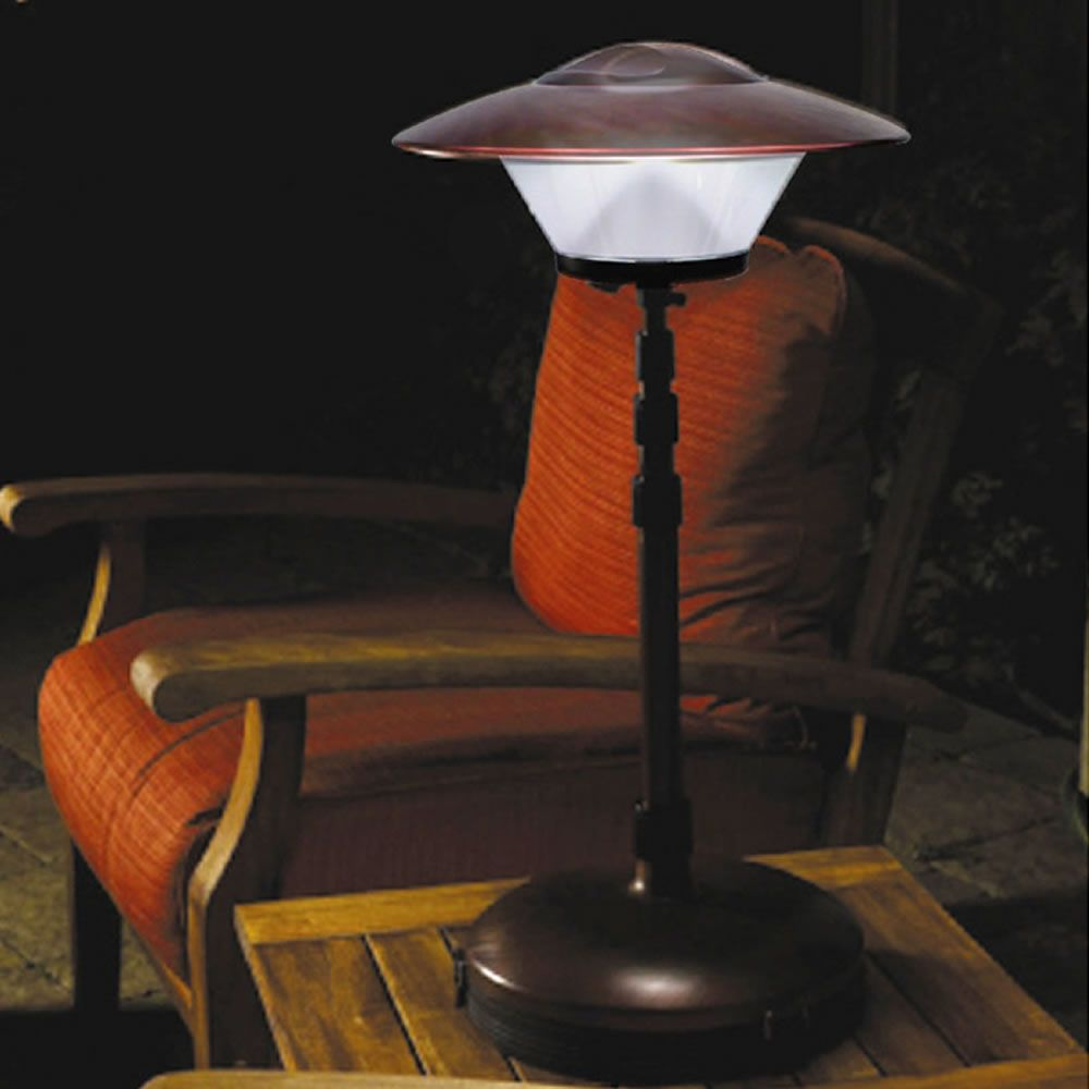Wonderful The Cordless Telescoping Patio Lamp
