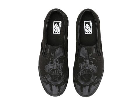 e56497ef84 Vans Classic Slip-On™ X Star Wars® (Star Wars) Dark Side Darth Vader -  Zappos.com Free Shipping BOTH Ways