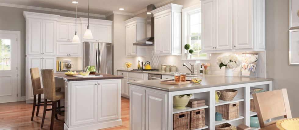 Newport Kitchen Cabinets american woodmark cabinets, exclusively at the home depot