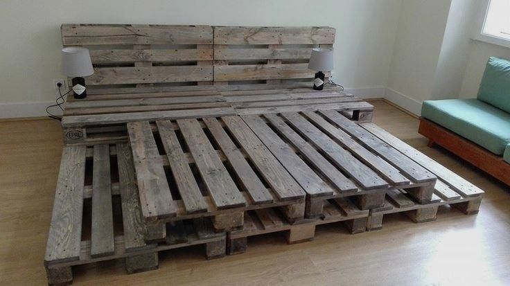 DIY Platform Beds Perfect For Your Room, You Must See! #palletbedroomfurniture