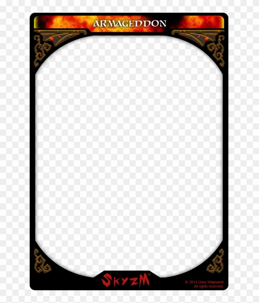 Card Template Png Trading Card Transparent Png 774x1032