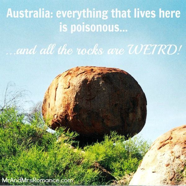 Things to see in Australia – 8 weird rock formations