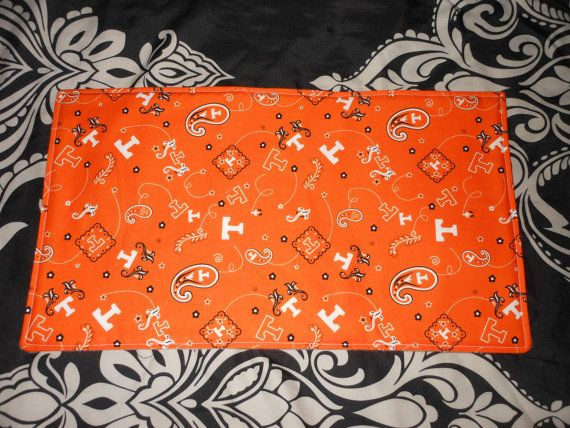 Tennessee Vols Burp Cloth by RockinBabyGoodies on Etsy, $8.00