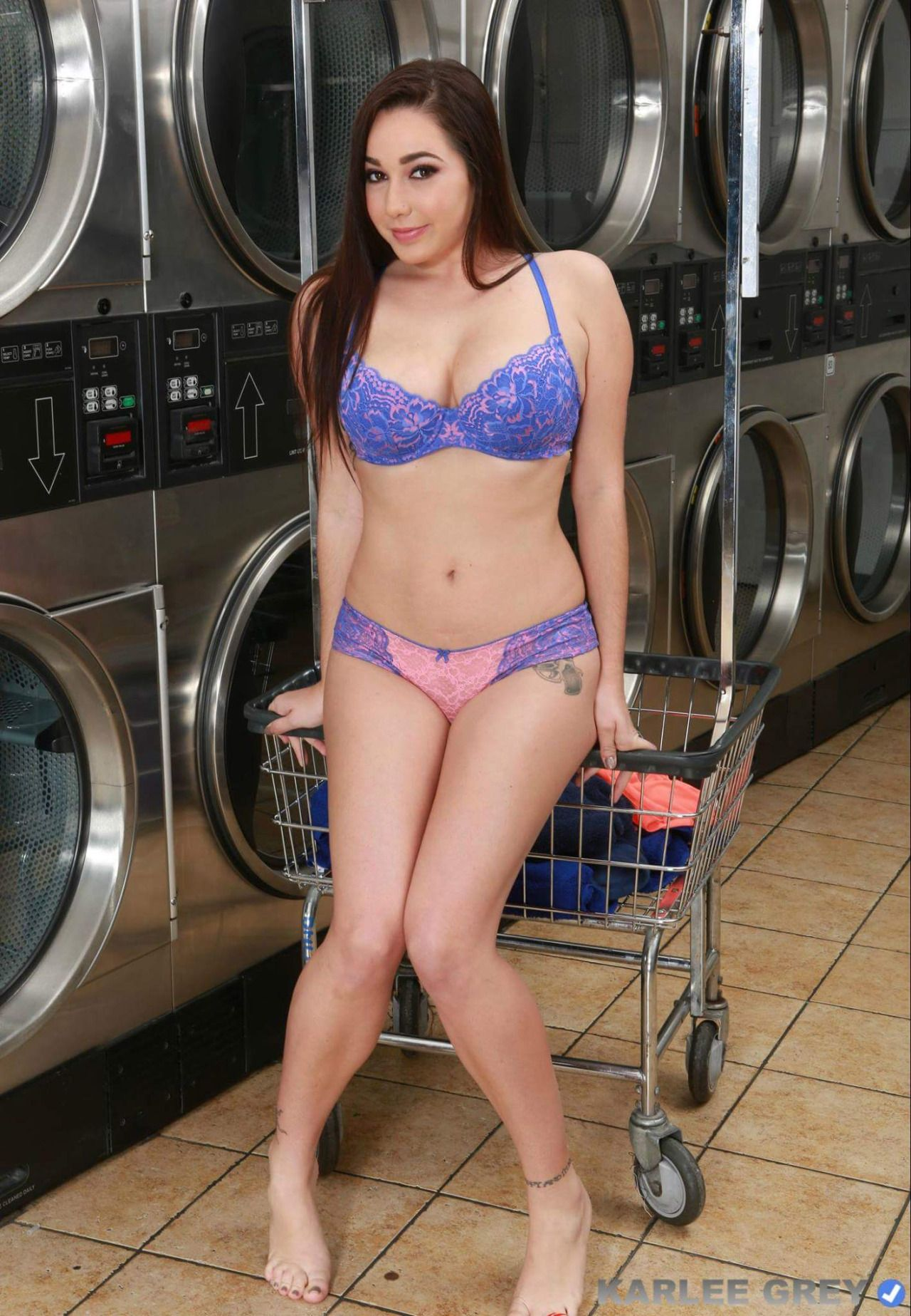 karlee grey laundry