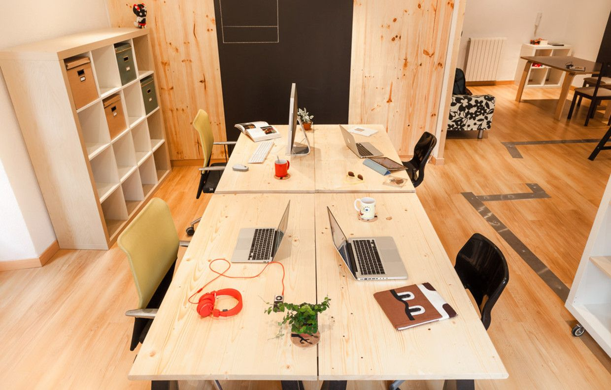 Coworking Space Rana Cowork Valladolid Spain Coworking  # Muebles Low Cost Valladolid