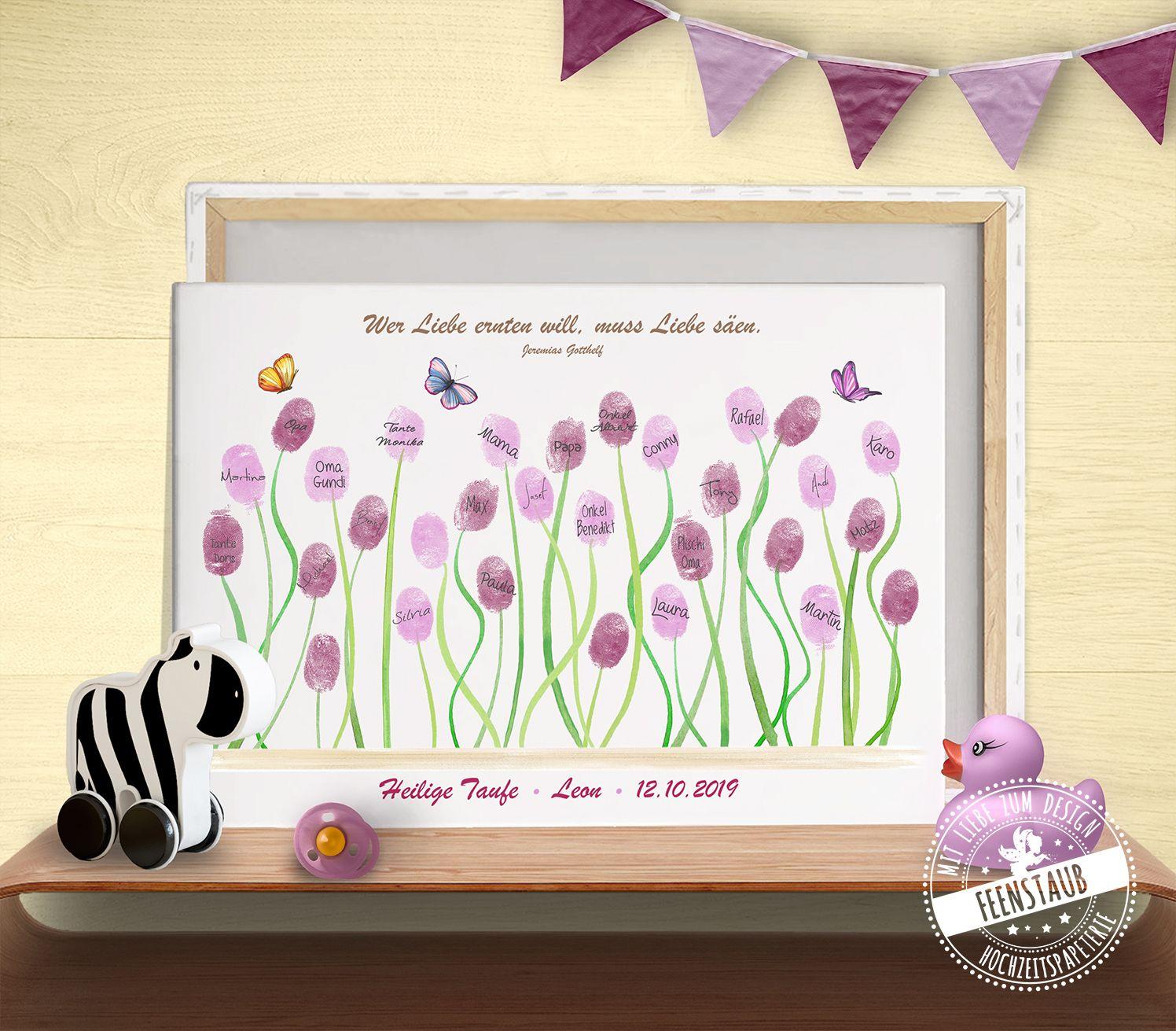 Taufgeschenk Blumen Taufgeschenke Kreative Geschenke