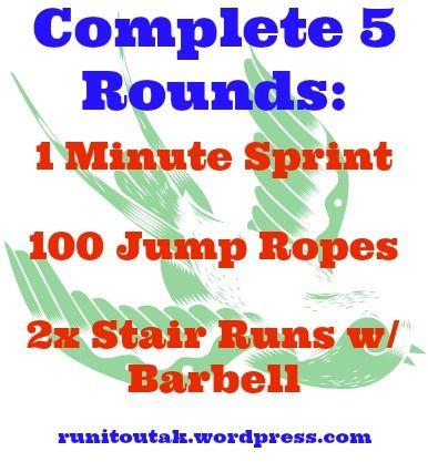5 round circuit workout!!