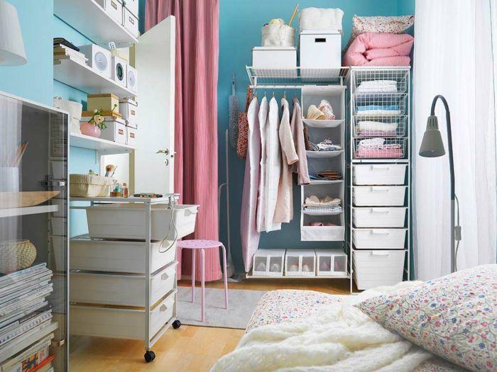 Gestaltung Ankleidezimmer ~ Kleiderschrank design ankleidezimmer einrichten spiegel sitzbank