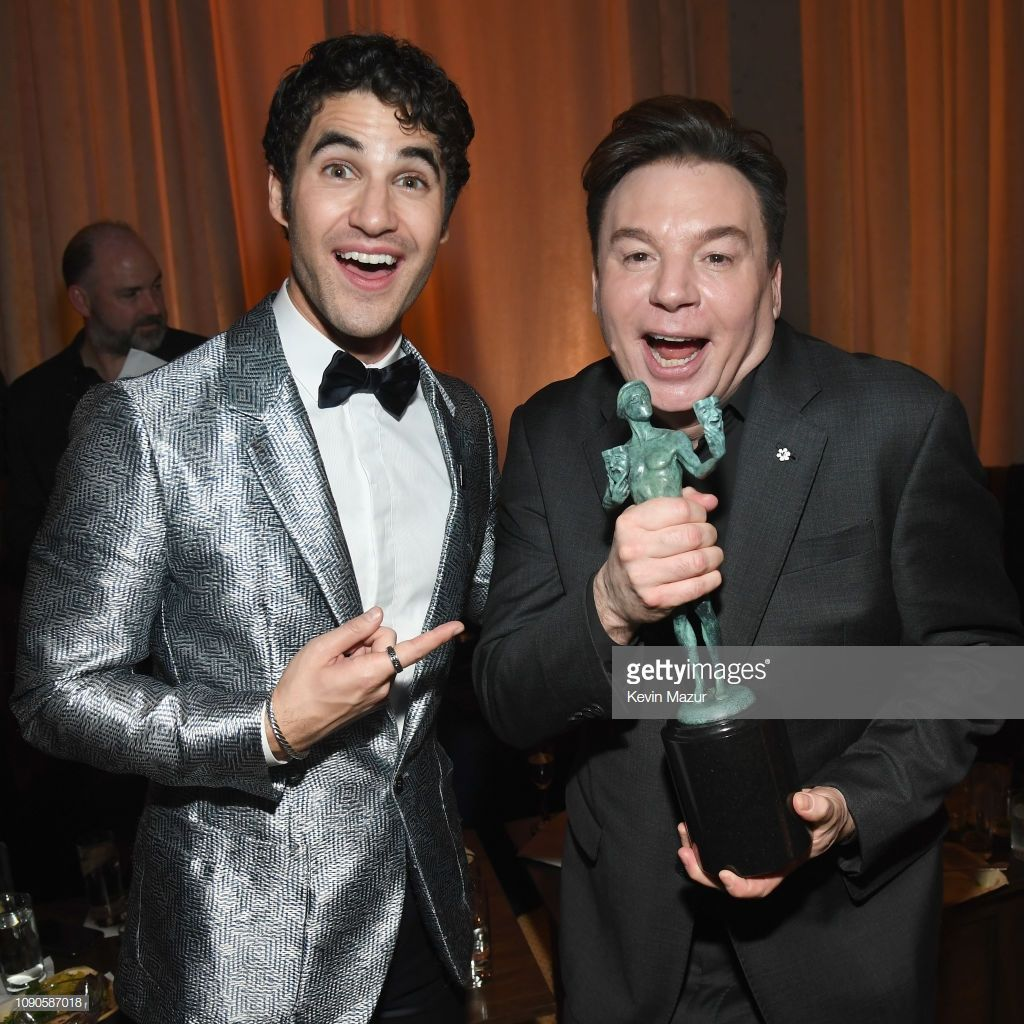 Darren Criss and Mike Myers attend PEOPLE's Annual Screen