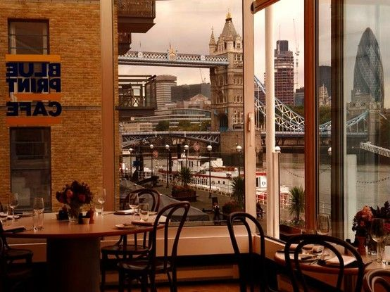 Blueprint cafe london w a n d e r l u s t pinterest cafes blueprint cafe london malvernweather Images