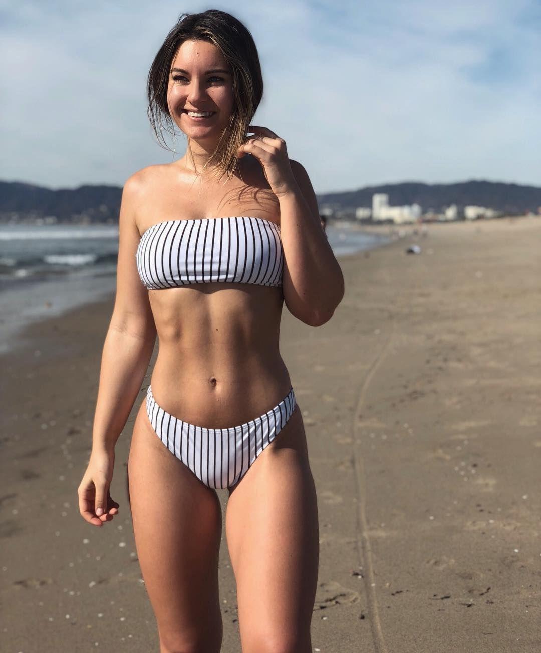 Pin By Kent Malone On Beautiful Women Bikinis Striped Bikini