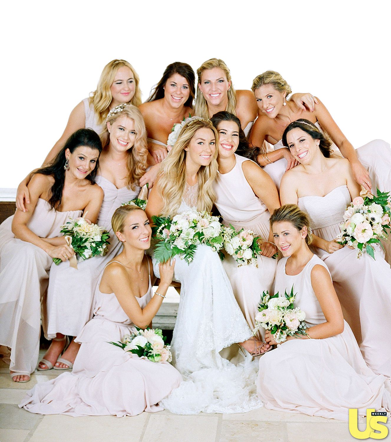 Wedding Bells What I Gave My Bridesmaids Lauren Conrad Bridesmaids Photos Bridal Party Poses Lauren Conrad Wedding