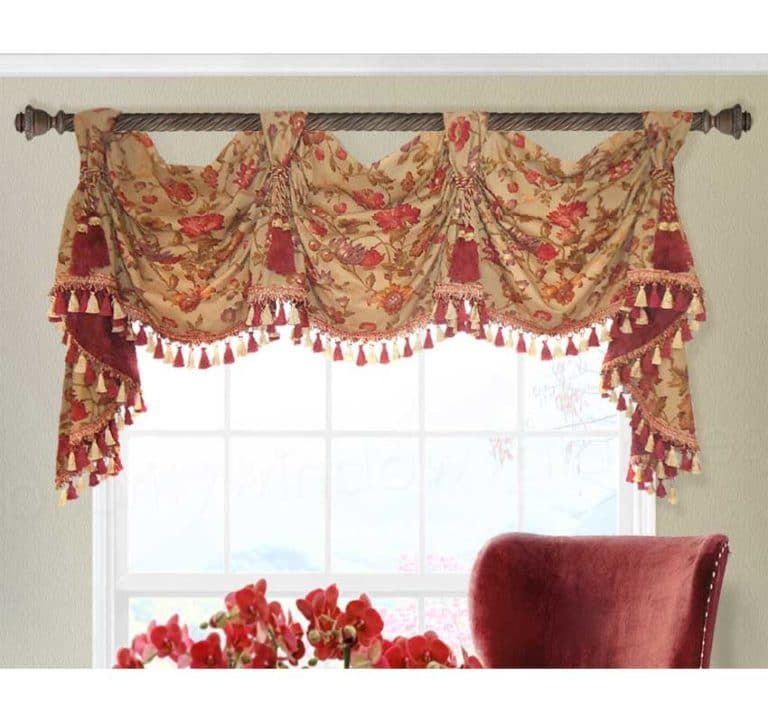 21 Different Styles Of Valances Explained By A Workroom Custom Curtains Valance Custom Valances