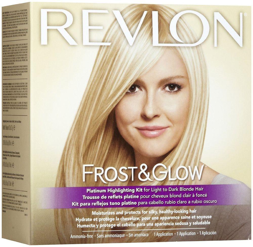 Revlonfrostglowplatinumhighlightingkitforlighttodark