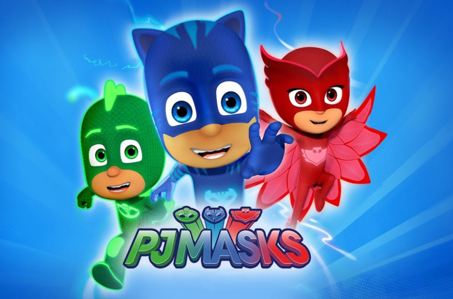 image about Printable Pj Masks named Backdrop Printable--\u003e\u003e PJ Masks/ Mask Birthday Bash