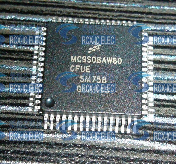 MC9S08AW60CFUE MC9S08AW60 QFP64 MC9S08AW