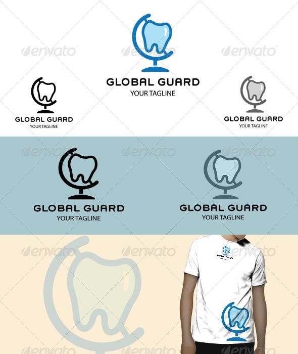 Global Guard Logo  #GraphicRiver         Global Guard Logo , clean and unique, suitable to any kind of companies,  	 Included Files:  	 Ai,Eps (cs2 document), Editable colours (CMYK mode) Editable fonts PNG (transparent - 300 ppi.)  	 Font used :   .myfonts /fonts/sudtipos/grover/  .myfonts /fonts/adobe/myriad/regular/ 	 Note: (The mock up is only for preview purpose)  	        Created: 10October13 GraphicsFilesIncluded: TransparentPNG #VectorEPS #AIIllustrator Layered: No…