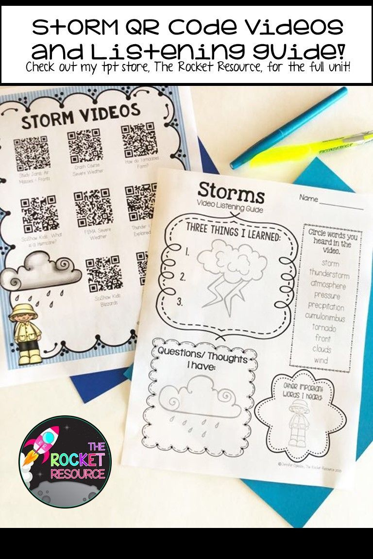 Types Of Storms Thunderstorm Windstorm Tornado Winter Storm Hurricane In 2020 Thunderstorms Storm Writing Graphic Organizers