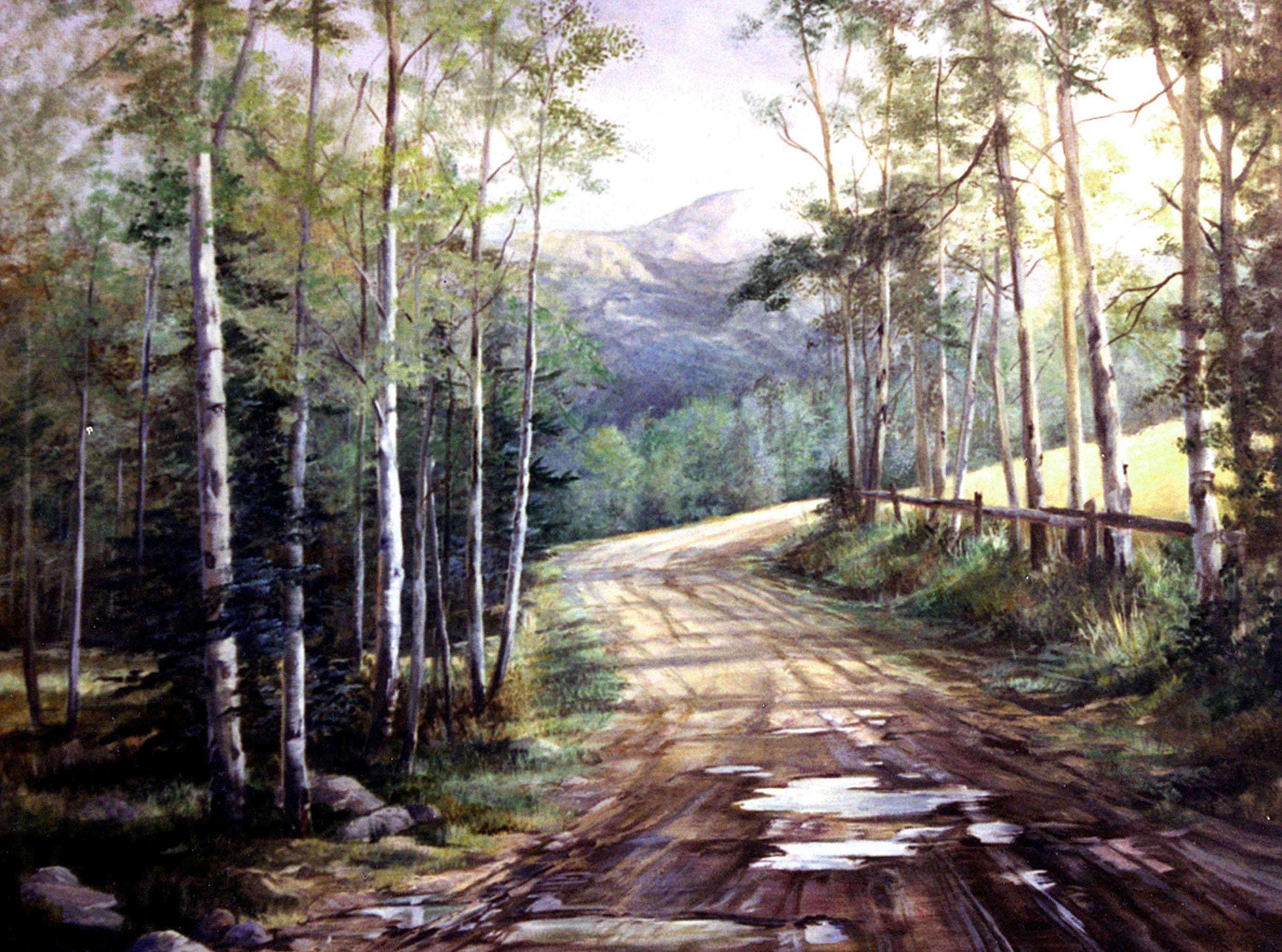 Image Result For Realistic Watercolor Landscape Paintings