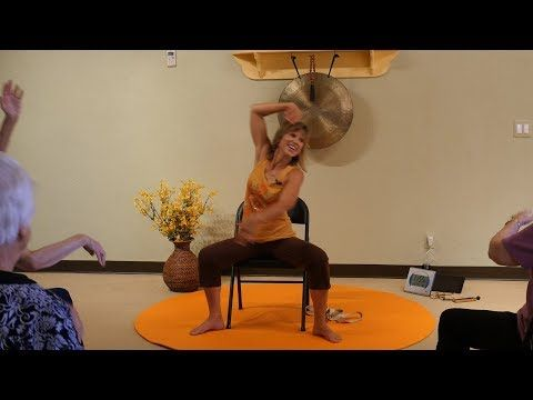 1 hr get moving and heal better with chair yoga with