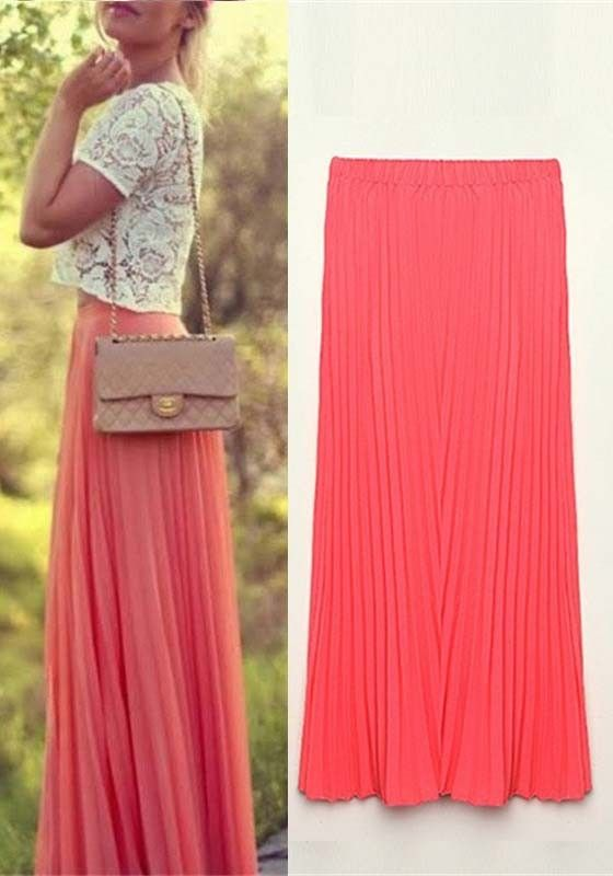 17 Best images about Maxi Skirt Outfit Ideas on Pinterest | This ...