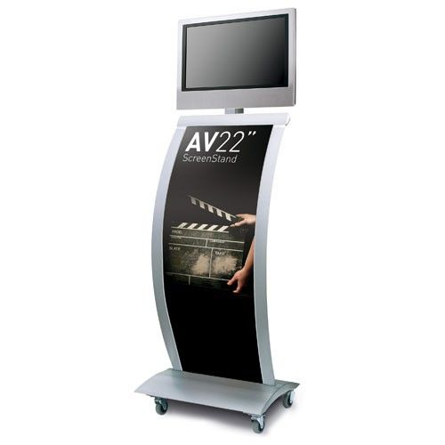 """AV22"""" Screen Stand - Graphic LCD Display Stand (Excludes Screen)"""