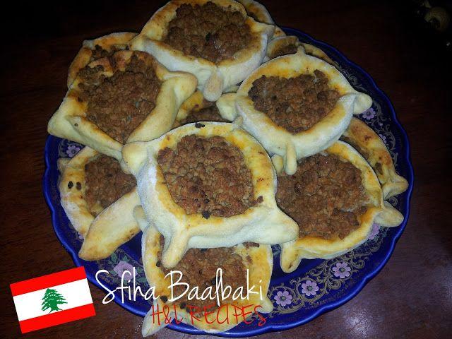 Hl recipes recette libanaise sfiha baalbaki for Cuisine libanaise