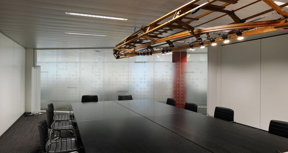 Meeting room into the premises of Atradius in Anvers, Belgium