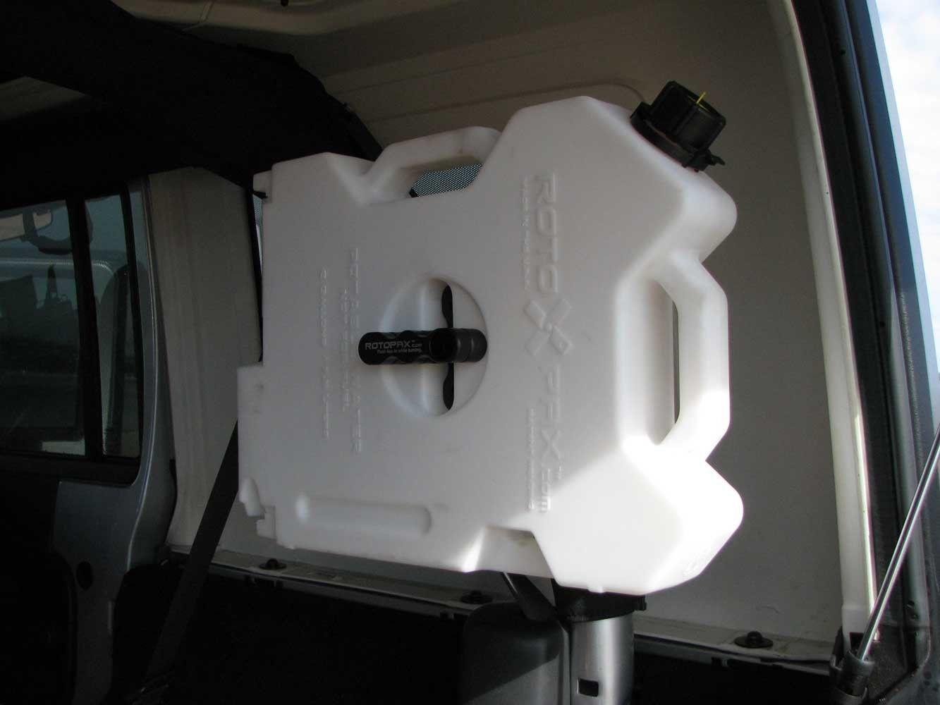 Rotopax Can Mount Interior Roll Bar Mount 2 Gallon Water