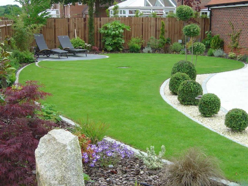 Image result for contemporary gardens | Modern garden ...