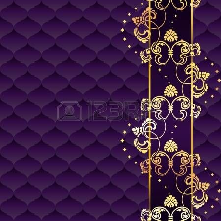 Stylish Background With A Gold And Purple Pattern Inspired By Purple Backgrounds Printable Frames Textured Background Purple white and gold wallpaper