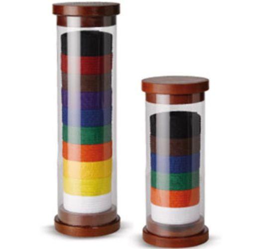 Cylinder Martial Arts Belt Display C13010 Taekwondo