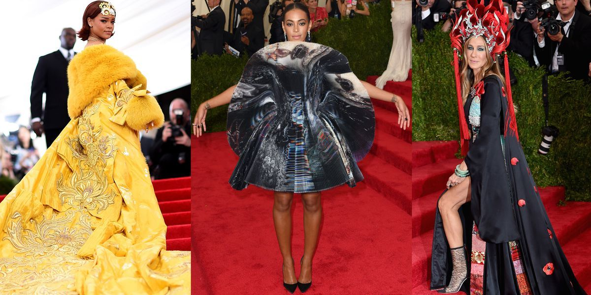 The Most Outrageous Met Gala Looks of All Time