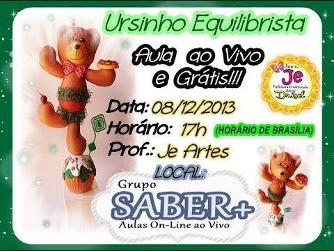 URSINHO EQUILIBRISTA EM E.V.A - YouTube