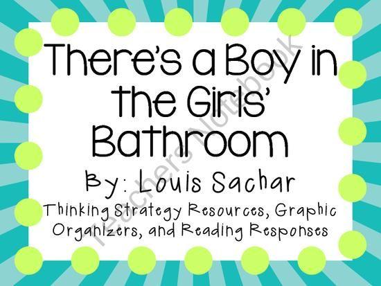 Teachers Notebook Louis Sachar Reading Classroom Novel Studies