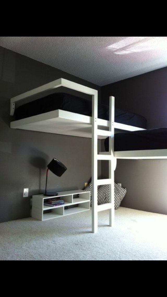 Futuristic Bunk Beds Kids Room Pinterest Bedroom Modern Bunk