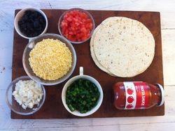 Healthy Pizza-dilla