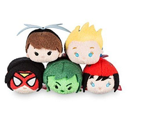 You can buy Disney - Marvel's Women of Power Mini Mini ''Tsum Tsum'' Plush  Collection set of 5 from our store now at our great price.