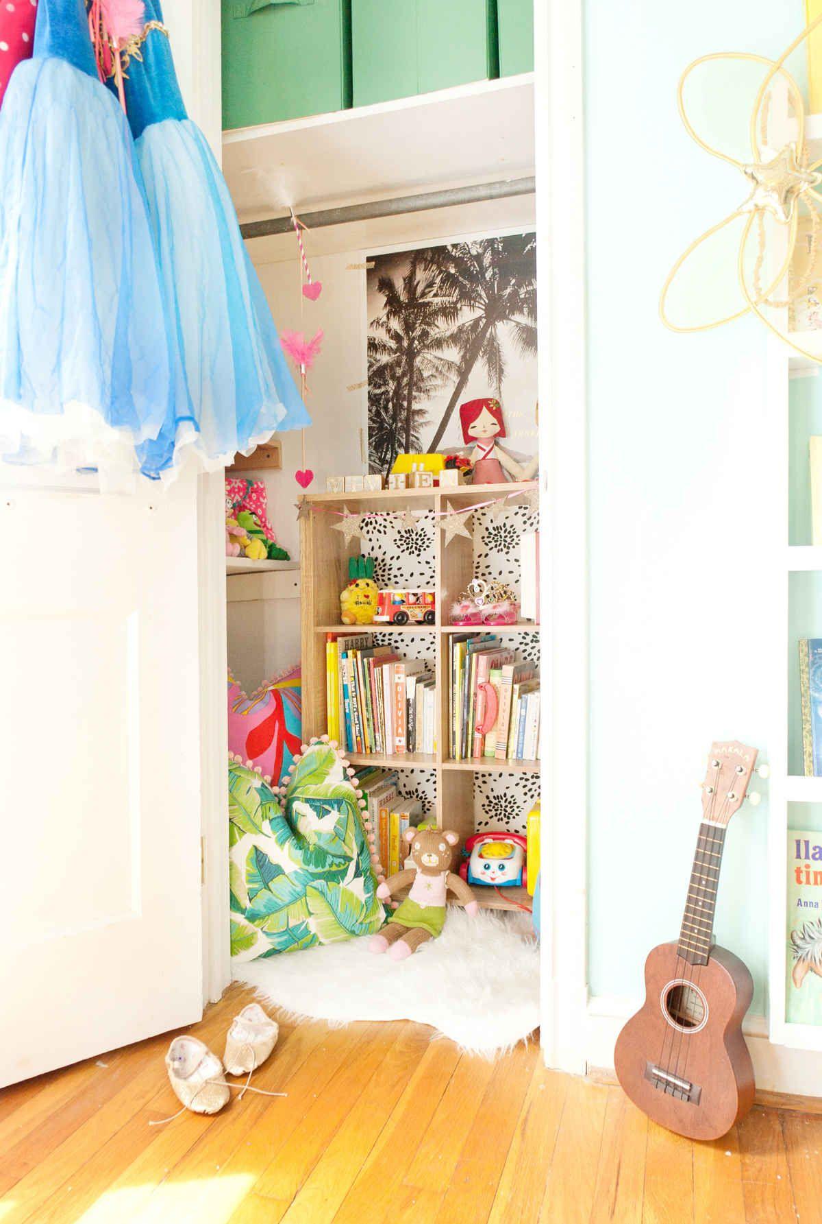 Toddler Closet Reading Nook Reading nook closet, Room