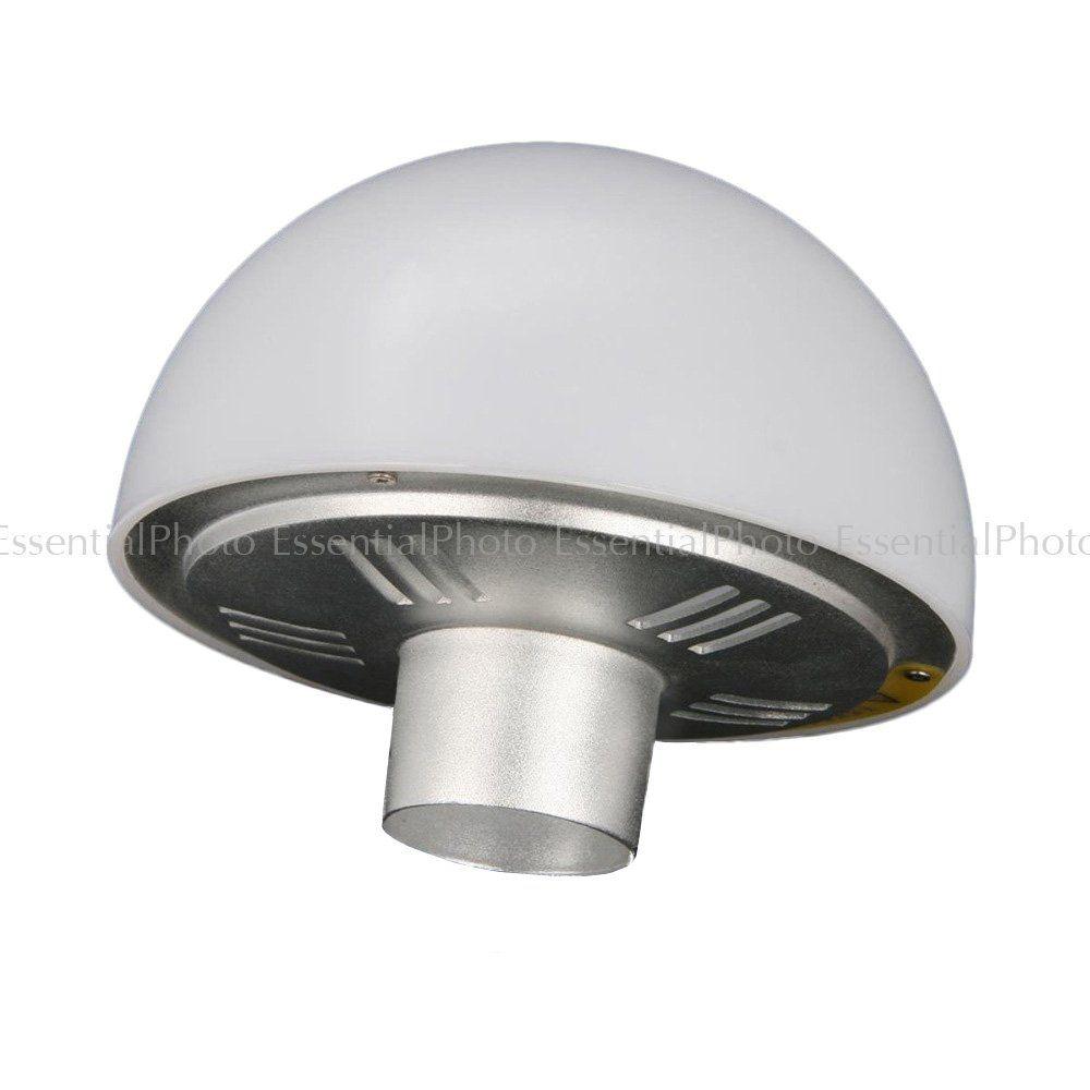 Studio Lighting Diffuser: 12cm 180° Diffuser Globe For HyBRID360 Bare Bulb Flash (AD